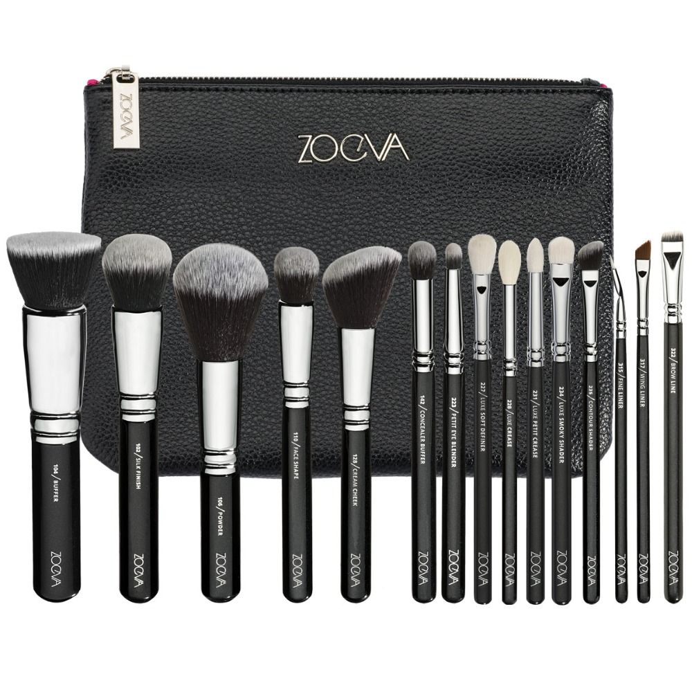 Pinsel Set Auf Lager Zoeva 15 Stücke Komplette Make Up Pinsel Set