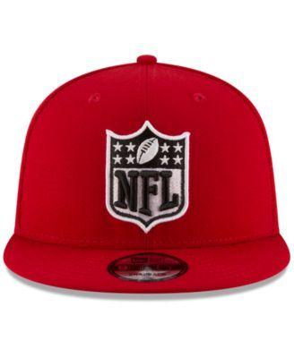 ea7d5ce69 New Era San Francisco 49ers Team Shield 9FIFTY Snapback Cap - Red Adjustable