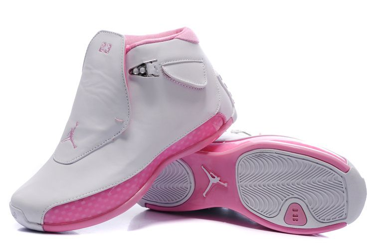 fe4a2c5cf627 Air Jordan 18 retro (women s pink)