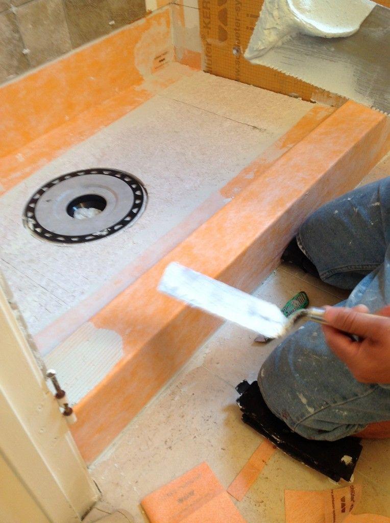 Ordinaire Schluter Shower Kit Installation