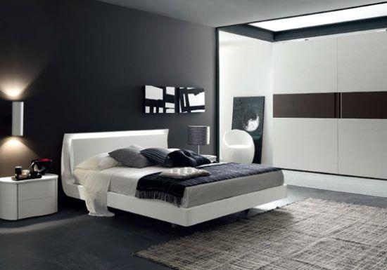 Come per ogni altro ambiente della casa, anche la camera da letto in stile moderno richiama ...