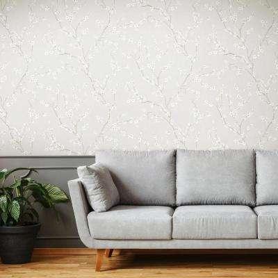 Peel Stick Wallpaper Home Decor The Home Depot In 2020 Cherry Blossom Wallpaper Peel And Stick Wallpaper Decor