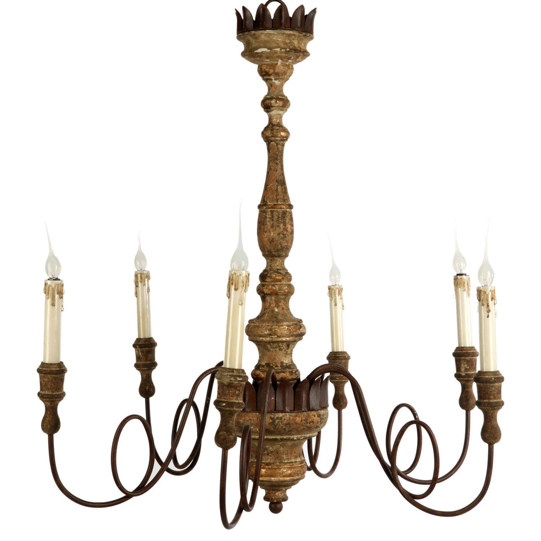 Love this Aidan chandelier