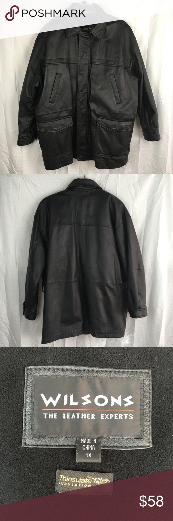 Wilsons Leather Jacket Big Mens Size 1x Lined Coat Wilson S Leather Big 1x Mens Leather Jacket Great C Leather Jacket Wilsons Leather Wilsons Leather Jacket [ 1740 x 580 Pixel ]
