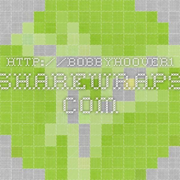 http://BobbyHoover1.sharewraps.com