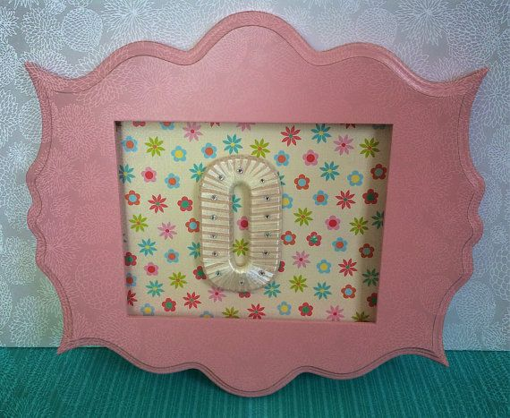 Baby Girl Nursery Decor-Custom Made Letters by TightlyWoundDesigns