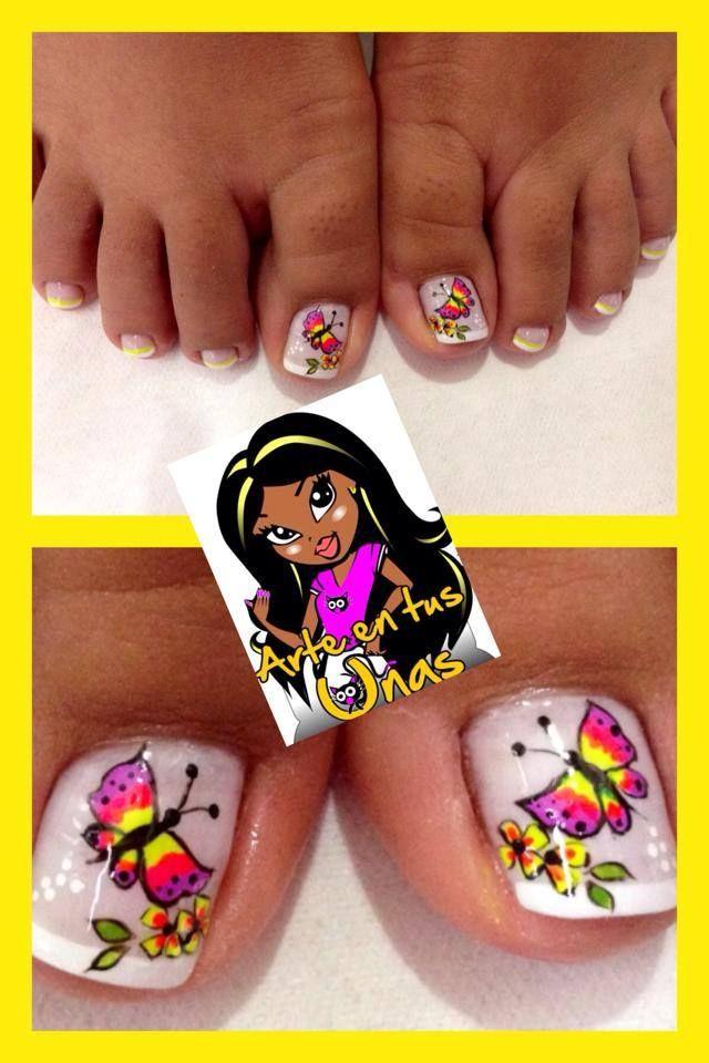 facebook arte en tus uñas | Uñas, Uñas con figuras, Uñas ...