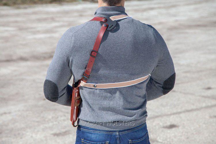 Leather Vertical Shoulder Holster Craft Holsters Vertical