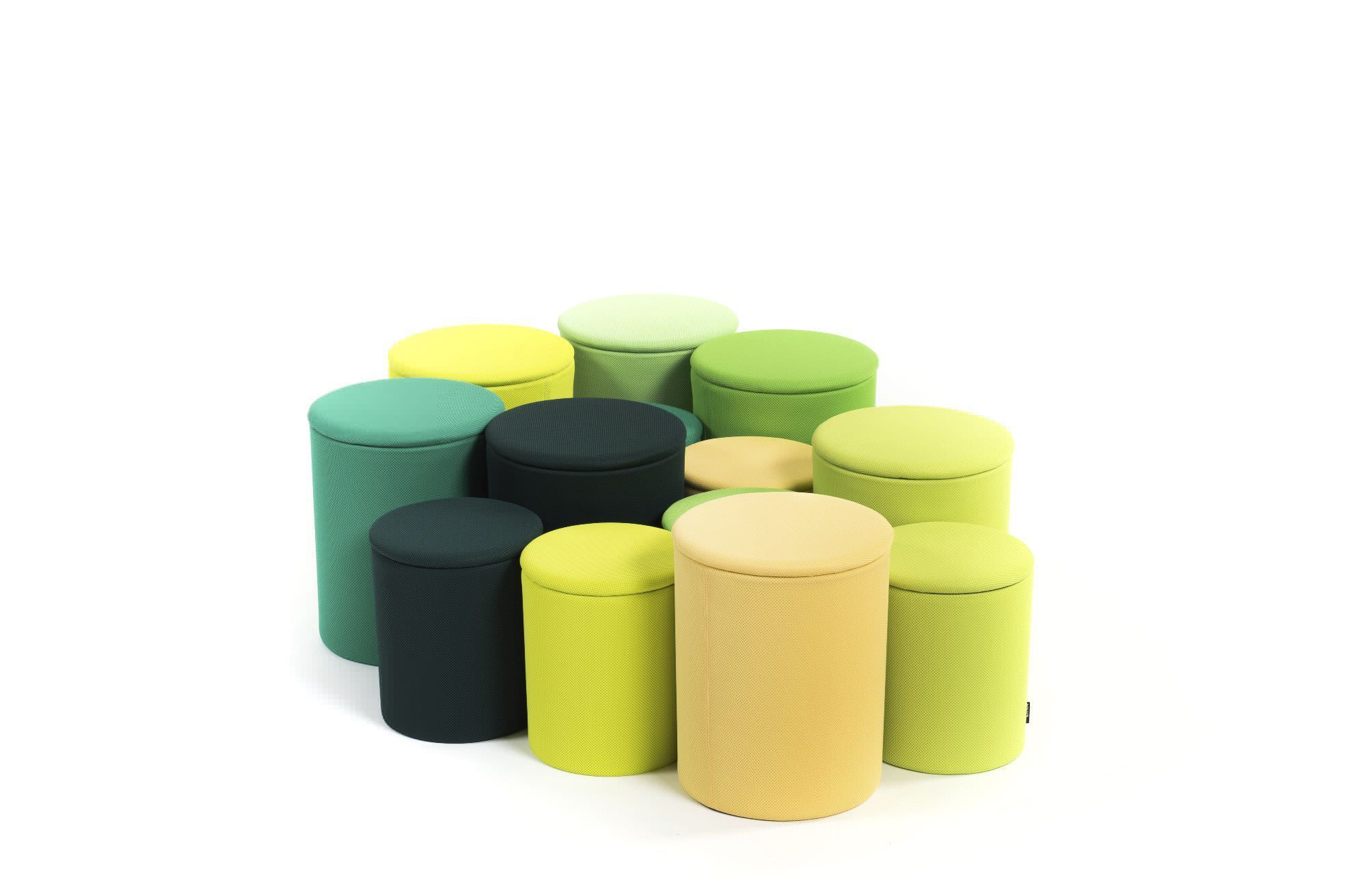 Pouf design pouf design en forme de cube proposé en 11 couleurs