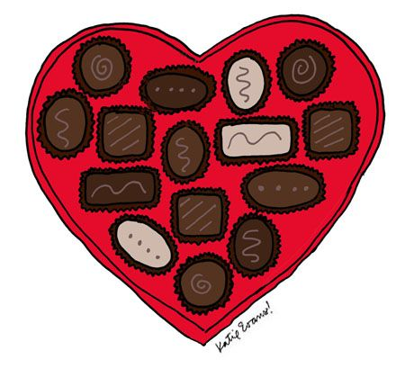 Log In Tumblr Chocolate Drawing Vintage Valentine Cards Candy Art