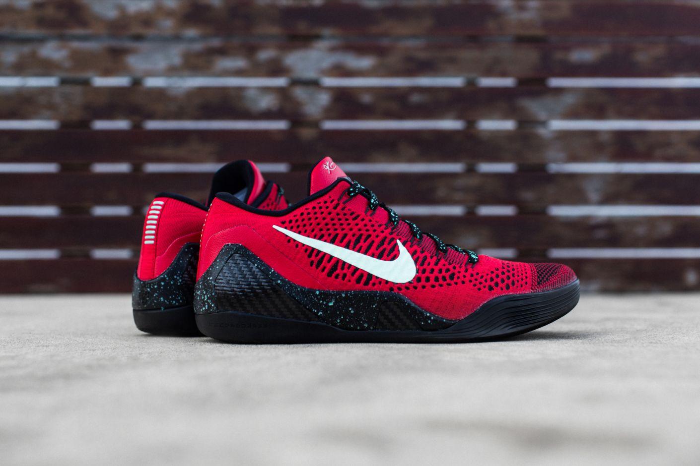 a3224462b67c Nike Kobe 9 Elite Low University Red Black in 2019