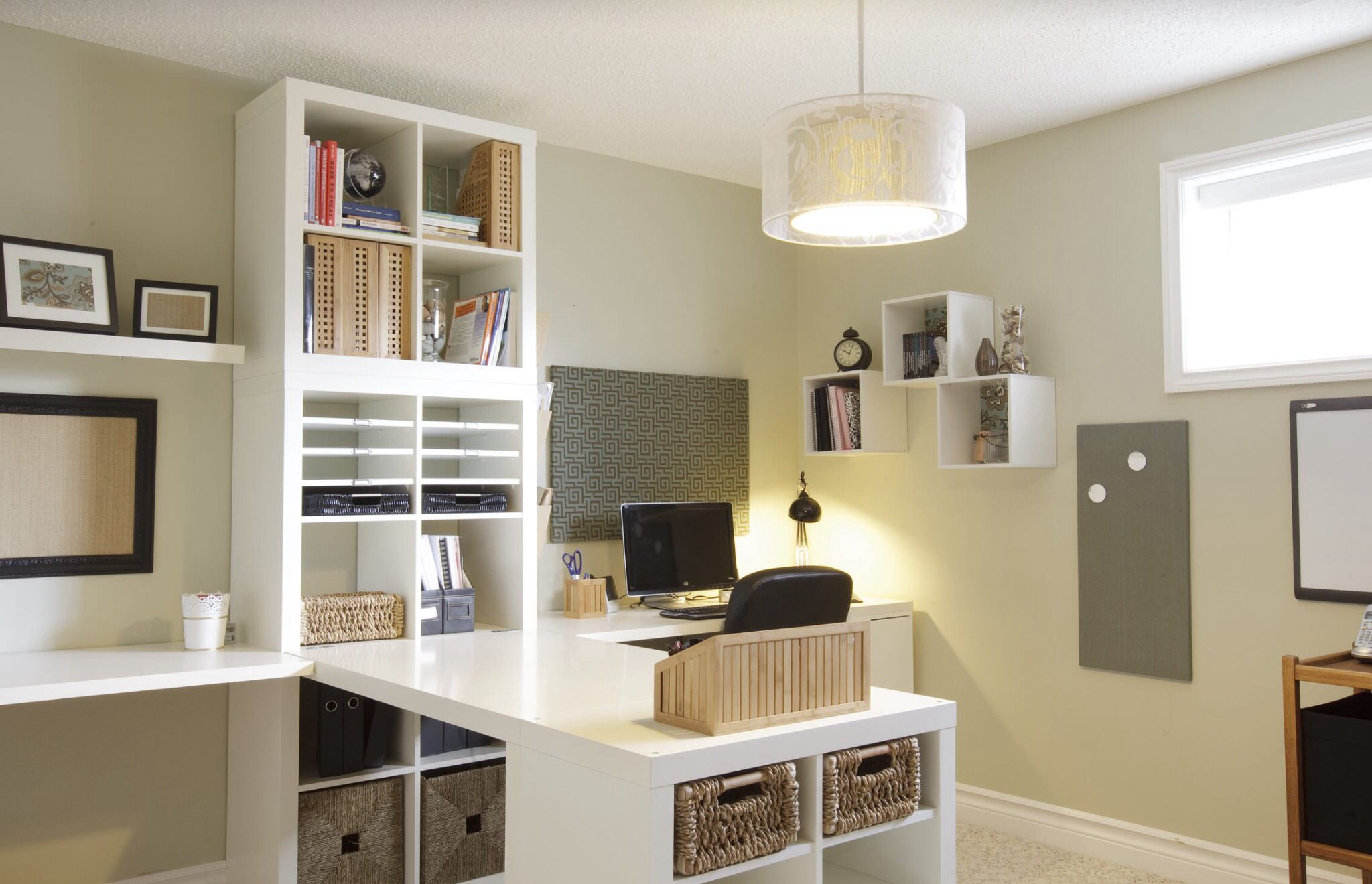 Kallax Ideen Arbeitszimmer Two Person Office From Ikea Office Ideas Pinterest