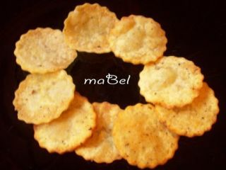 Chips de patatas fritas tipo Pringles