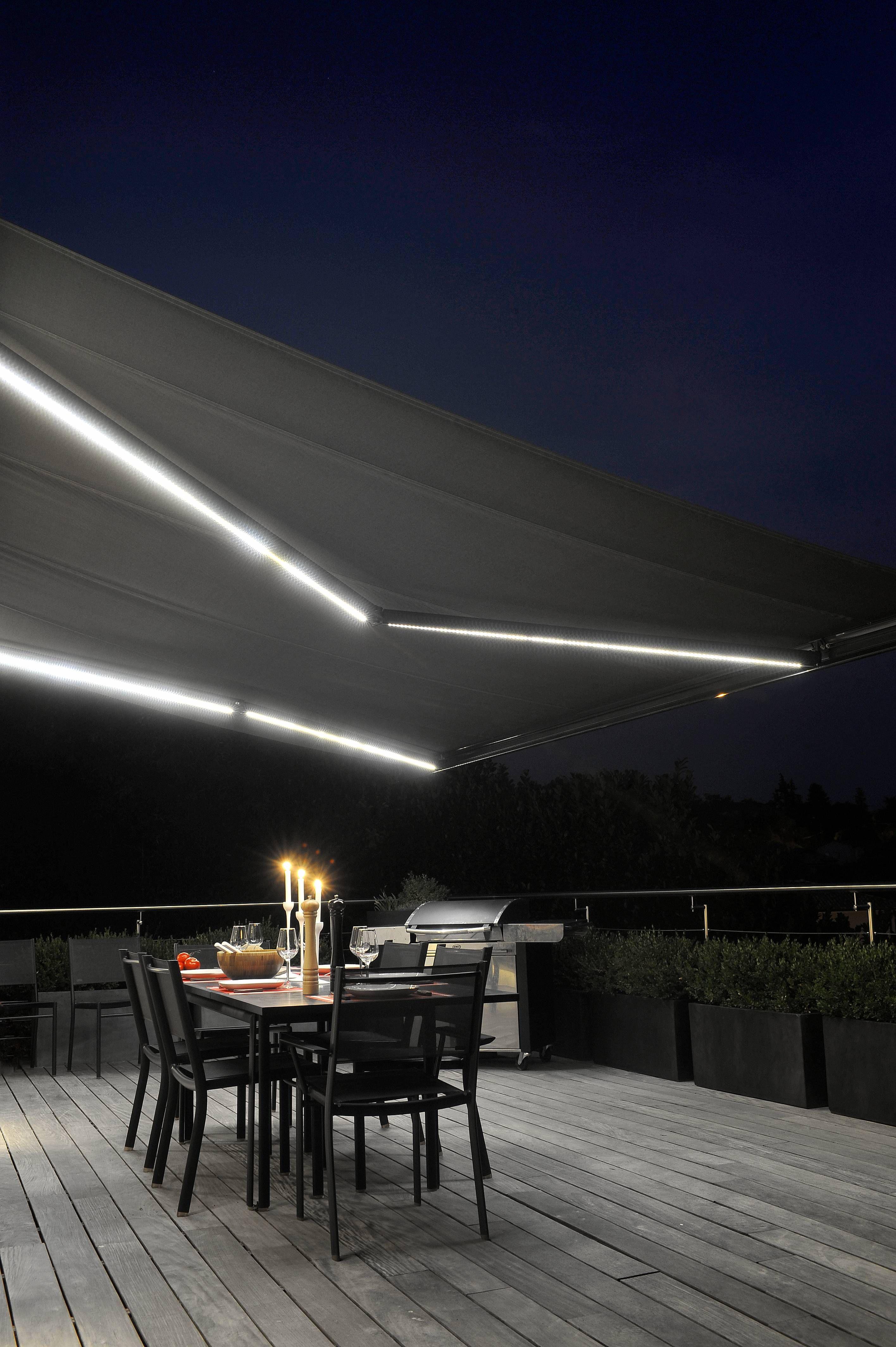 Eclairage LED   Store Extérieur Pour Terrasse
