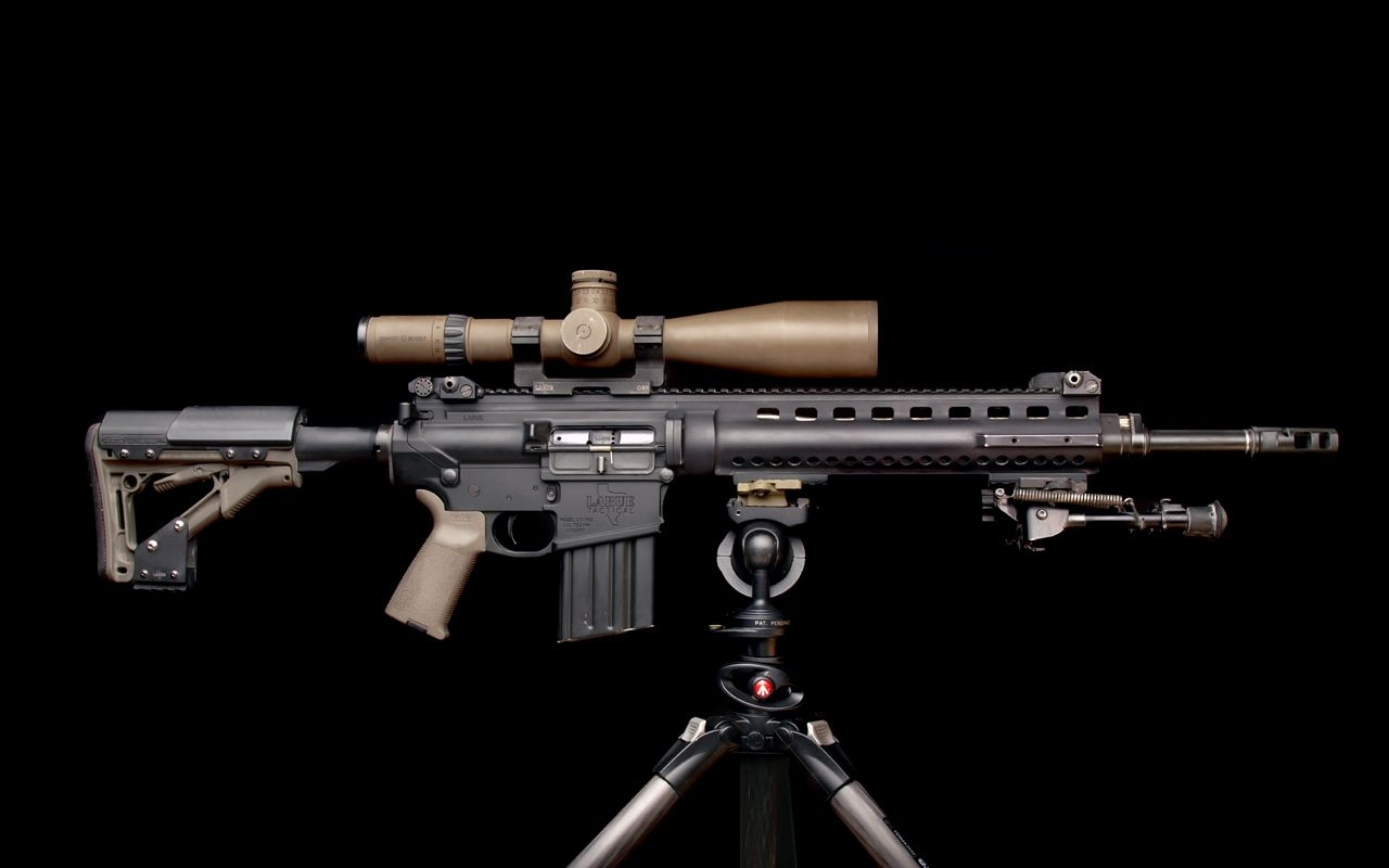 LaRue Tactical OBR 7.62...yeah...this is what happens when ...