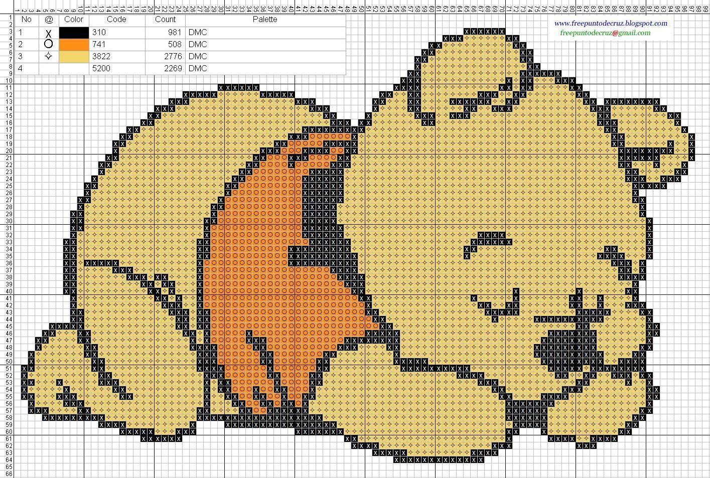 Dibujos Punto de Cruz Gratis: Winnie Pooh bebe Baby - Cross Stitch ...