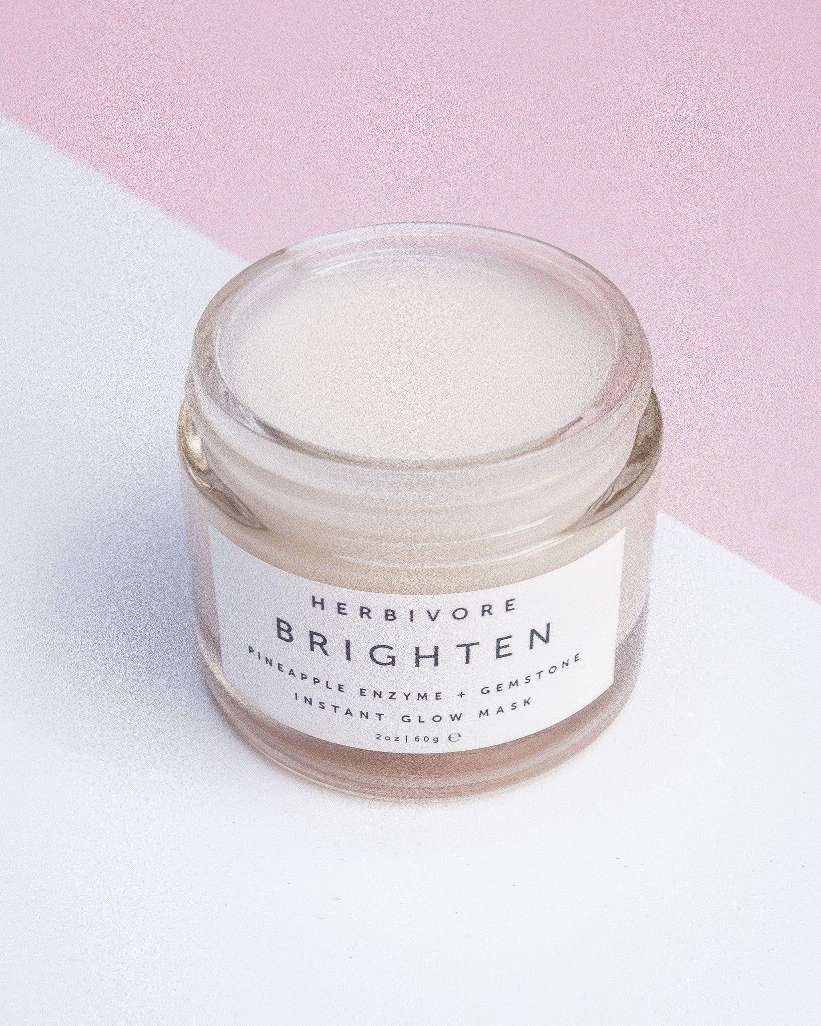 N E W - Brighten Pineapple + Gemstone Mask