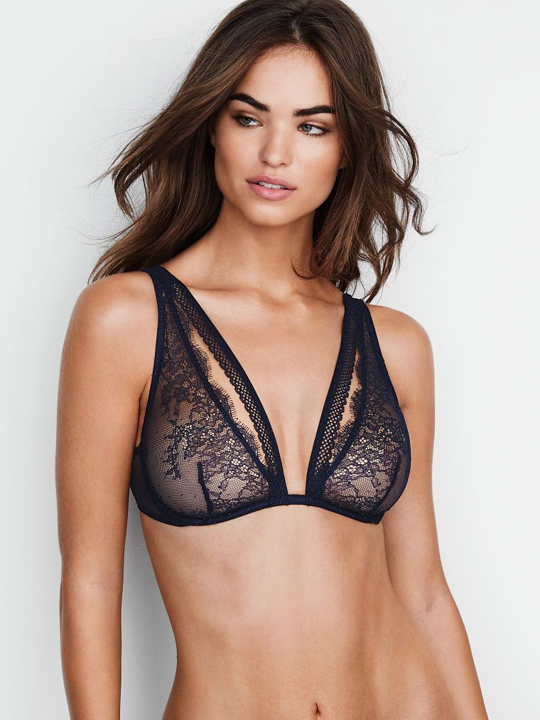 a51021fc75 Chantilly Lace Plunge Bra - Very Sexy - Victoria s Secret on sale for  35.00