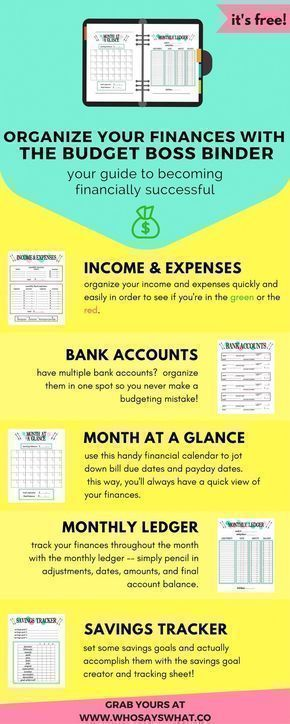 Budget Binder Budget Organization How To Budget Budget Tips - Free Budgeting Spreadsheet