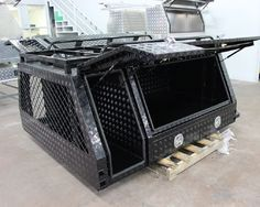 HQ LINK TOOLBOX CANOPY TRAILER powder coated