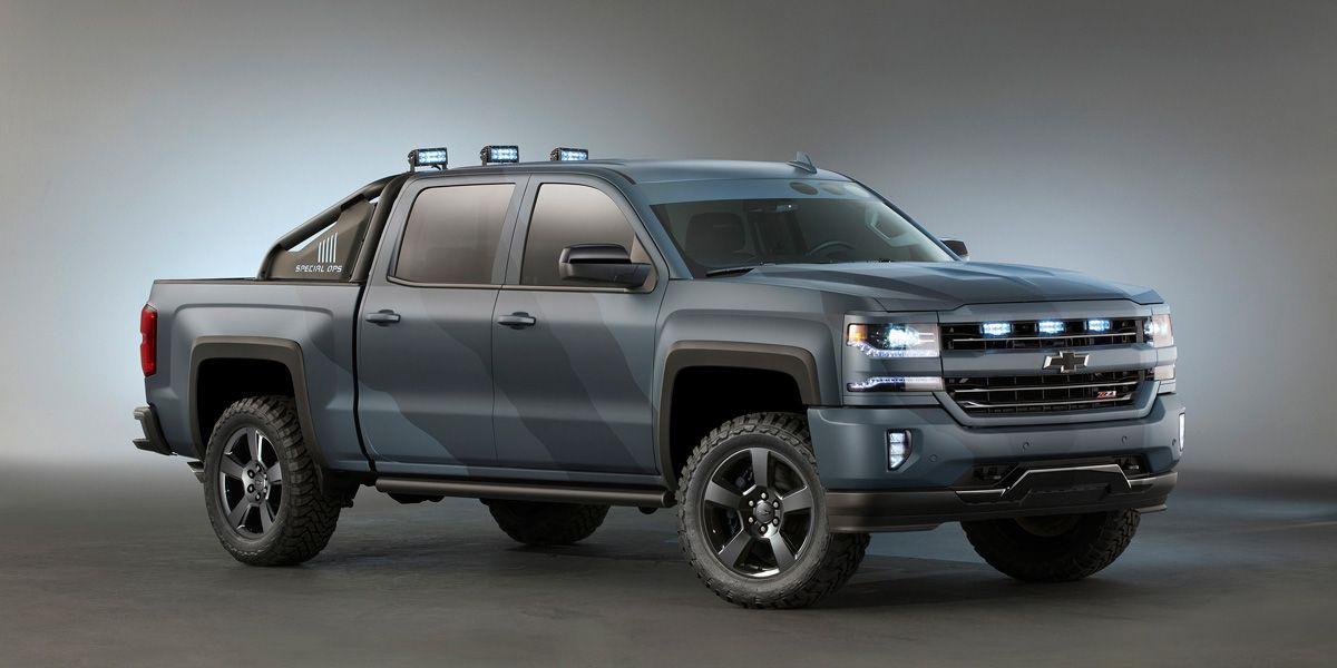 Silverado Special Editions >> Chevrolet S Badass Silverado Special Ops Edition Truck Gets