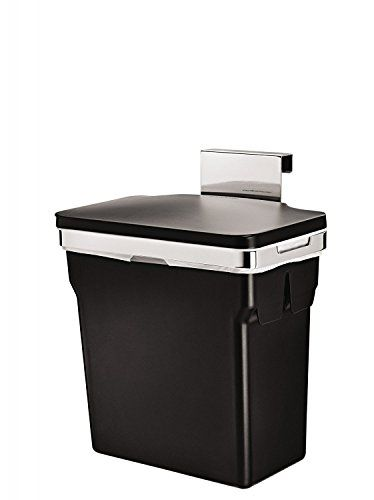 Simplehuman In Cabinet Trash Cans Fit Inside Kitchen Cabinets And Make It  Easy To Throw Trash Away At The Sink.