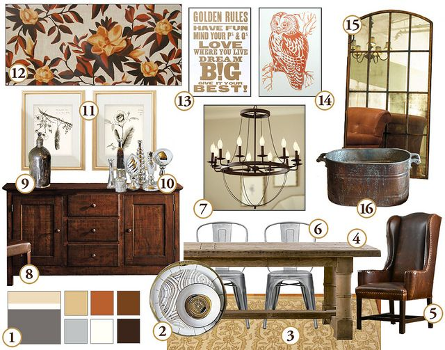 Dining Room Inspired By David Stark Dinnerware For West