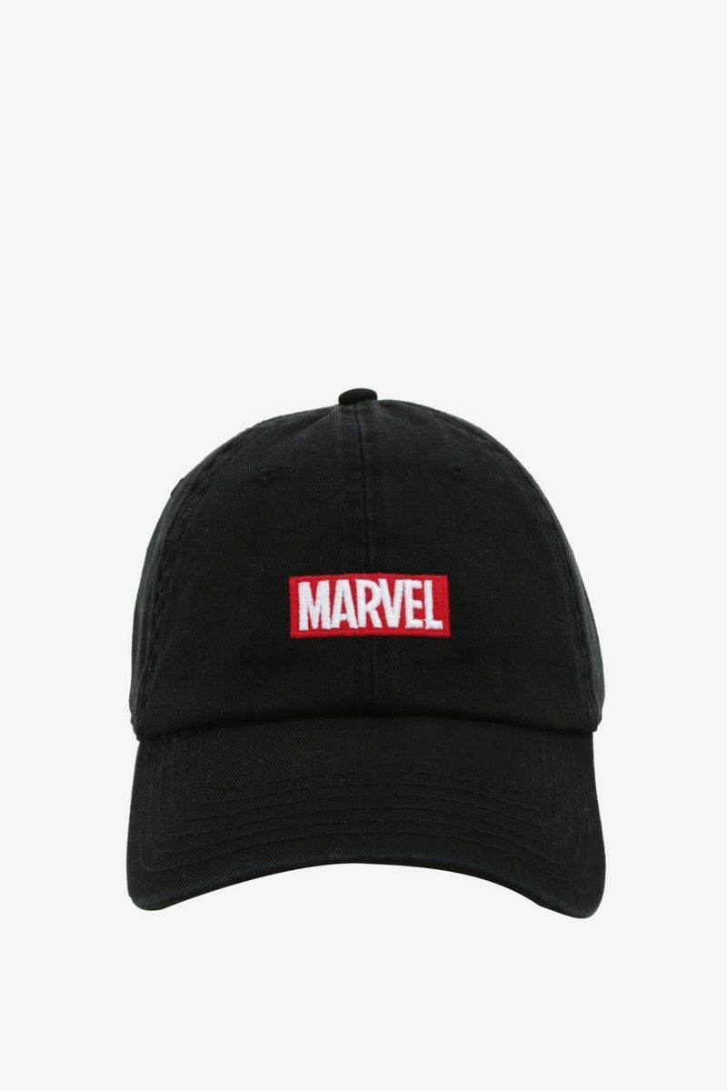 a7f58557a0082 Marvel Logo Dad Hat in 2019