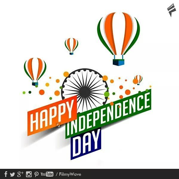 Wishing you all a very Happy Independence Day! . Follow @filmywave ...