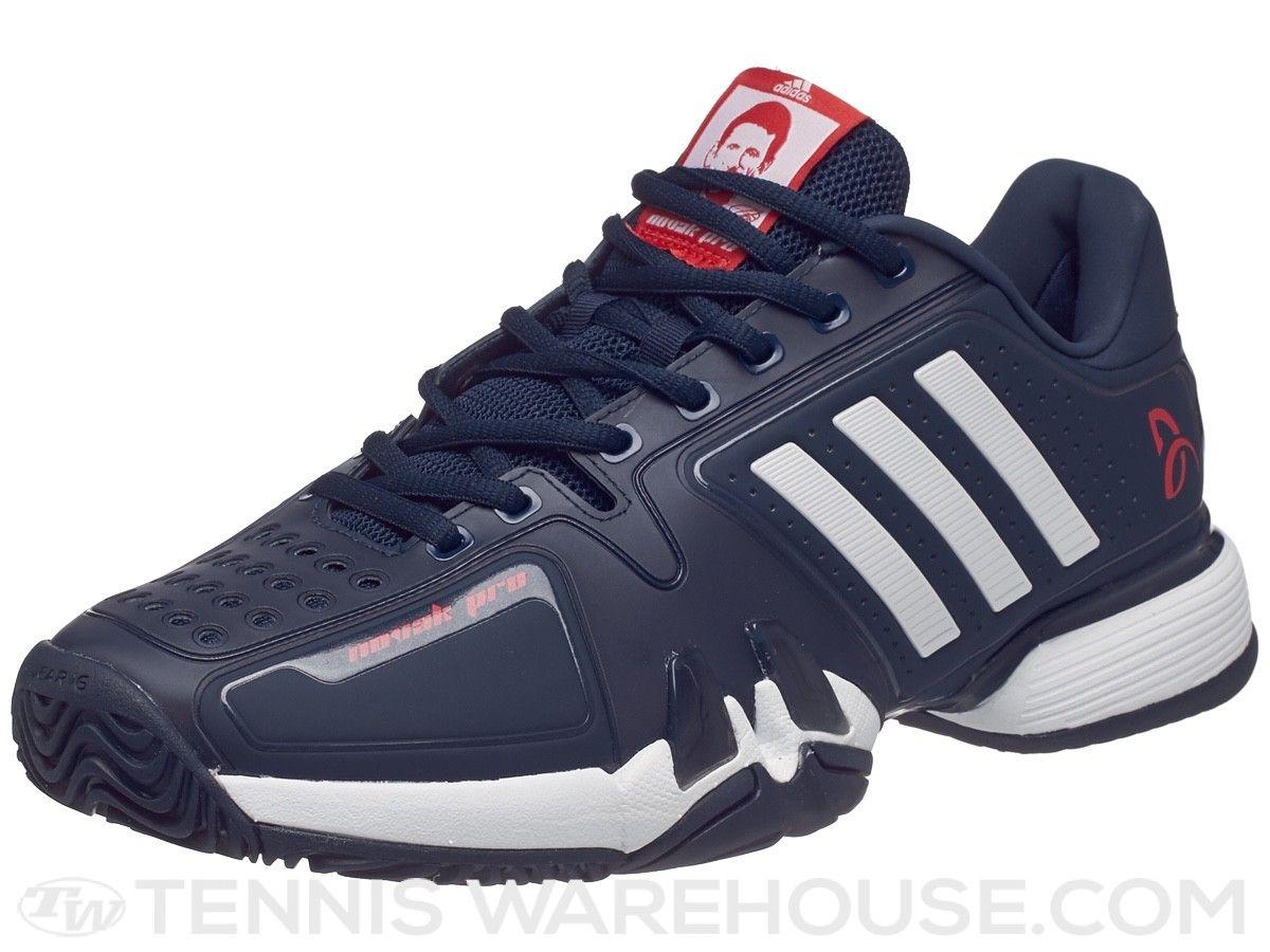 Adidas Novak pro Navy / blanco hombre 's zapato tenis equipo nuevo