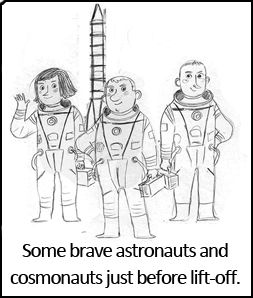Illustrating 'The Official Astronaut's Handbook' - by ...