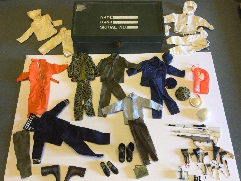 Lot Of 8 Vintage 1960s Gi Joe Knockoff Brand Clothing Accessories W Footlocker Ebay Outfit Accessories Foot Locker Knockoff