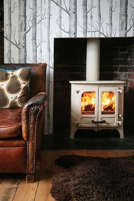 Charnwood Island I Freestanding Fireplace Wood Stove Fireplace Wood Burning Stove