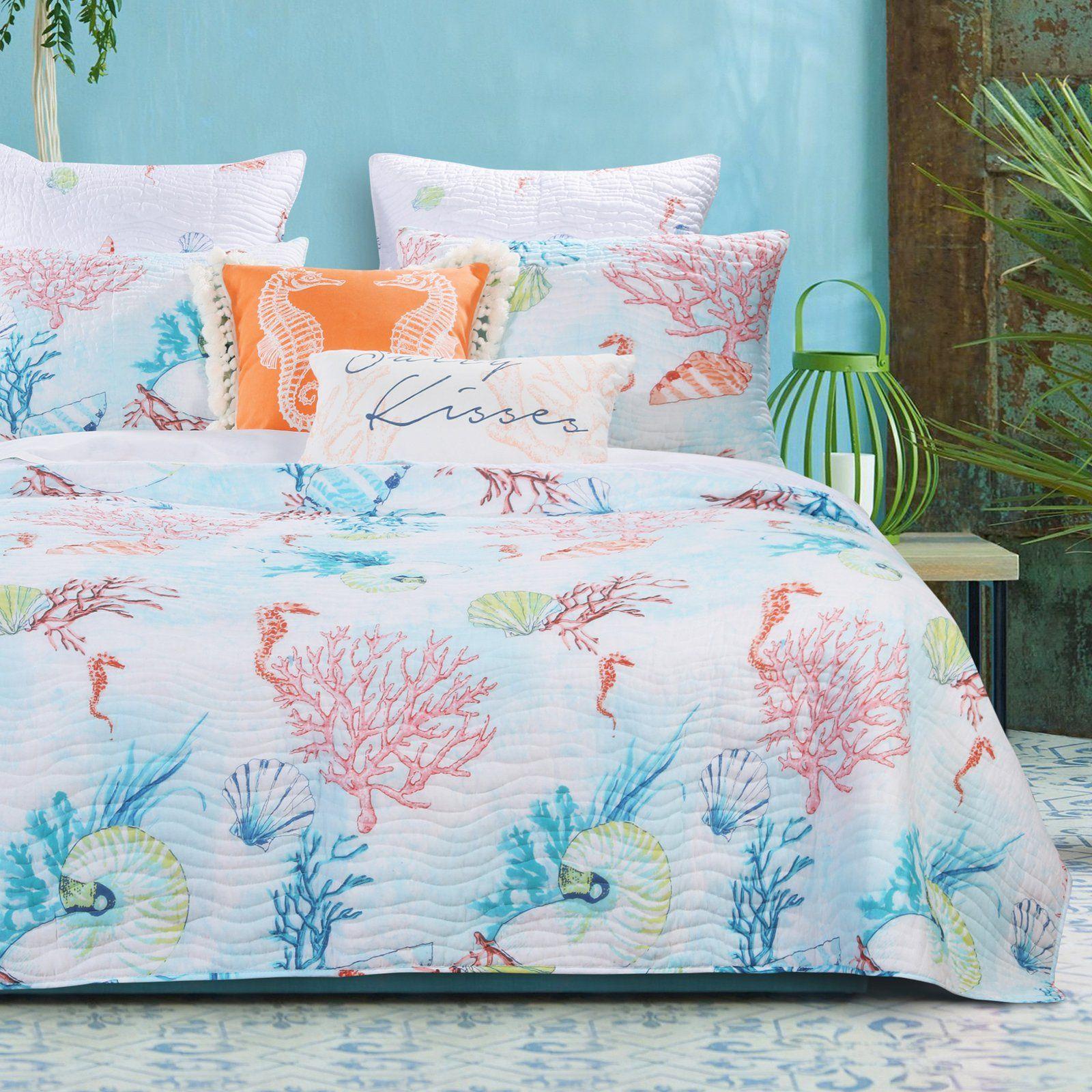 Sarasota Quilt Set By Barefoot Bungalow Size King Quilt Sets