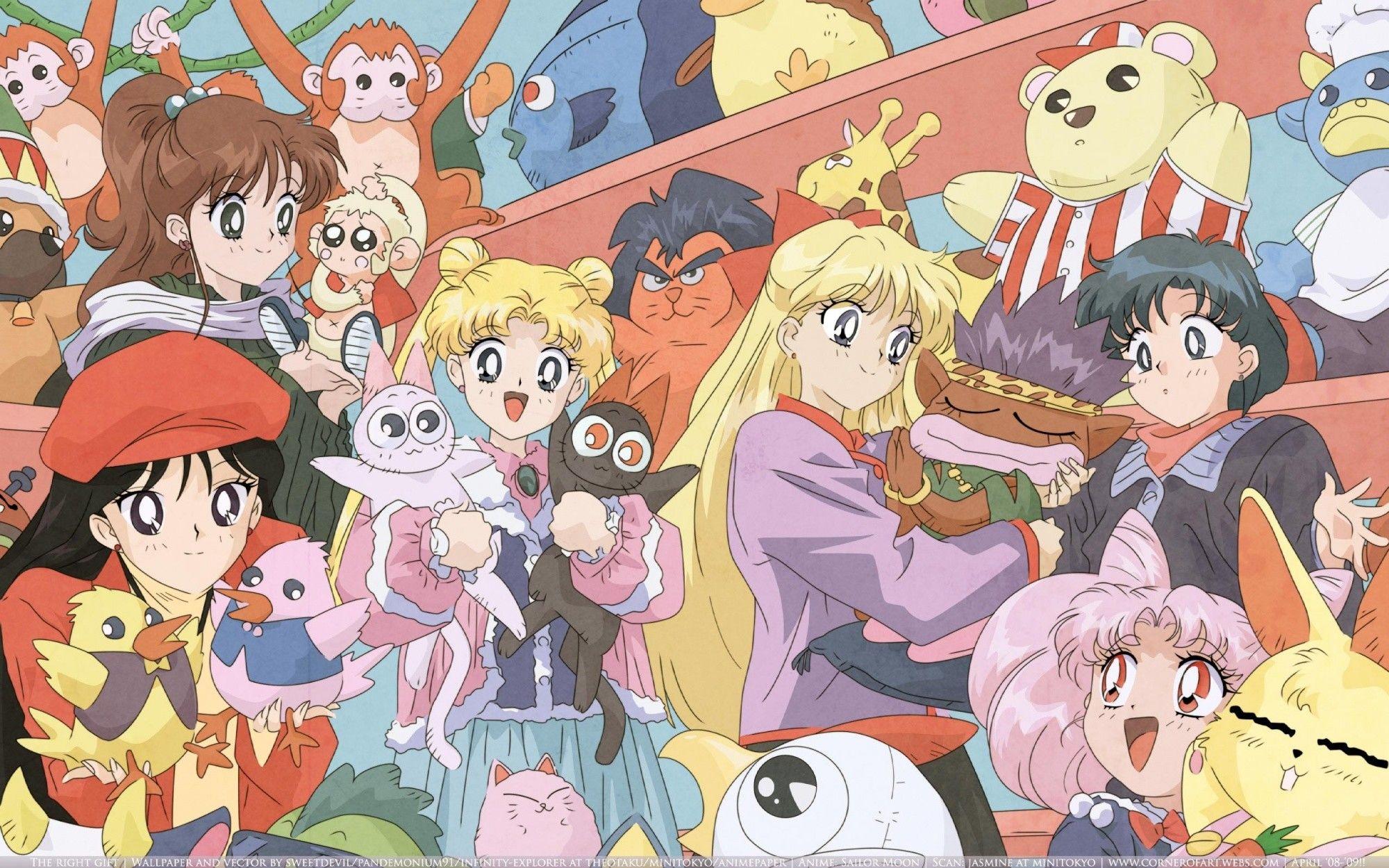 2000x1250 Bishoujo Senshi Sailor Moon · download Bishoujo