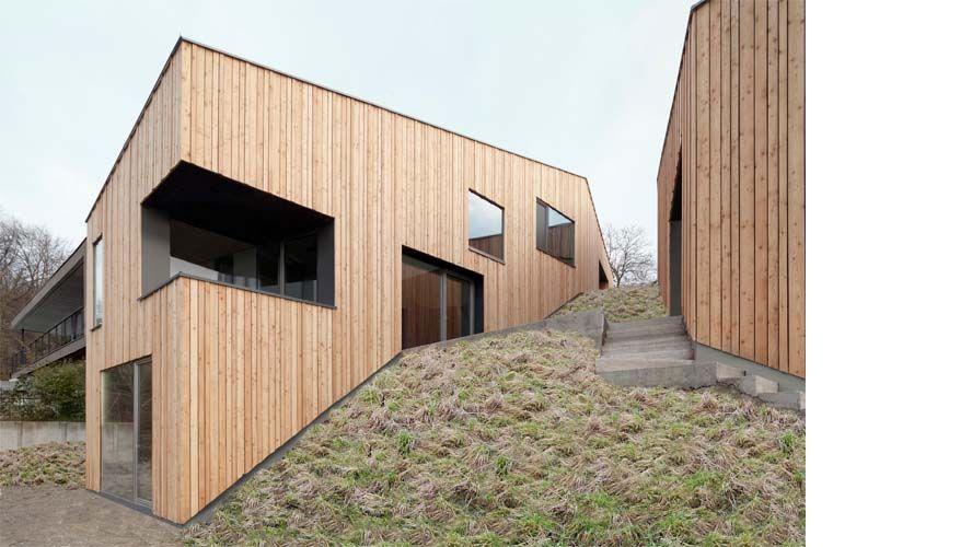 Exceptional This House By Architects Destilat Appears To Climb Down A Hill At The Foot  Of The Pöstlingberg Mountain In Austria.