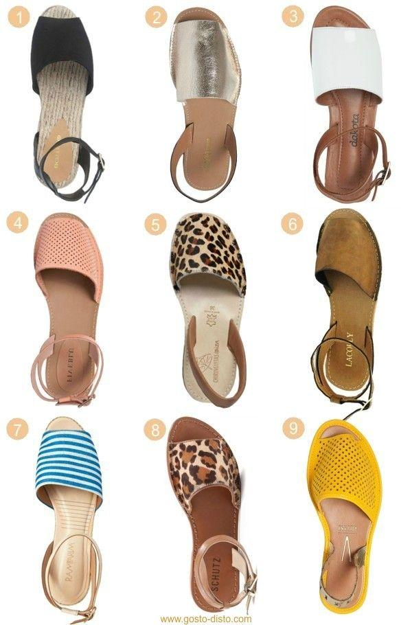 cbb31bdbf Avarca, a sandália must-have do verão in 2019 | Sapatos | Sapatos ...