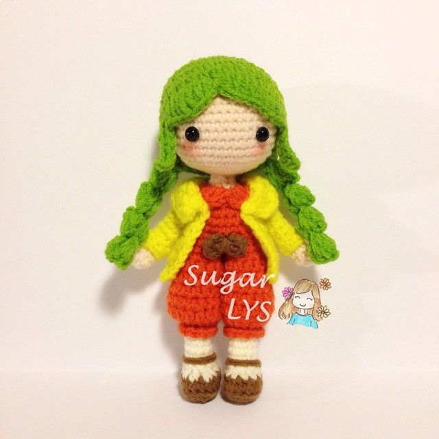 Amigurumi Tags For Instagram : Sugarlys s photo on instagram crochet doll inspiration