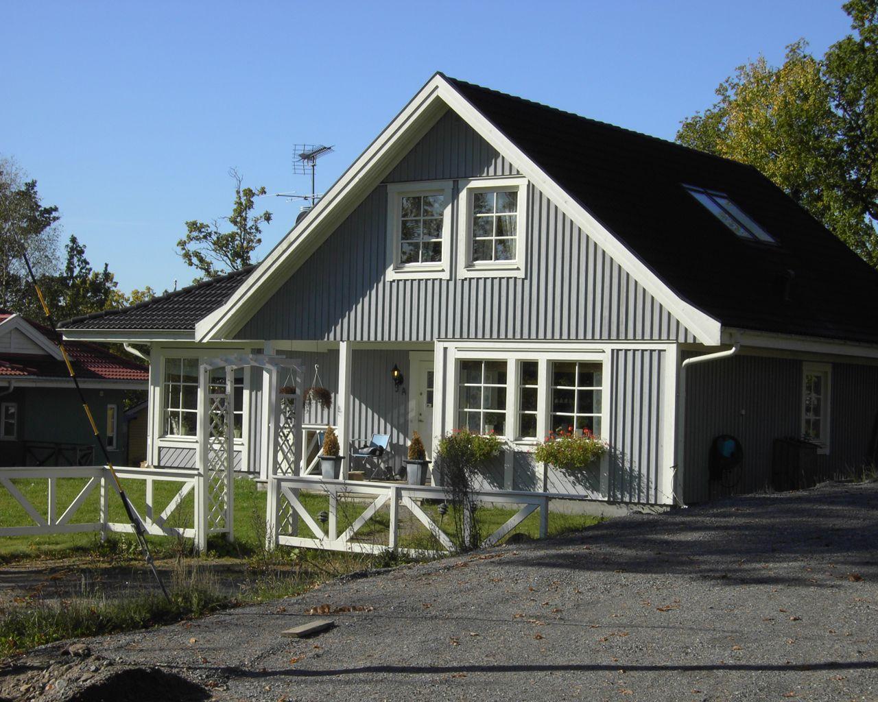 Schwedenhaus grau  Unsere Bauunternehmer bauen Ihr Schwedenhaus, bezahlbar in ganz ...