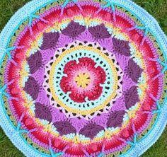 Patrones de Mandalas en Crochet (Free crochet patterns mandalas)