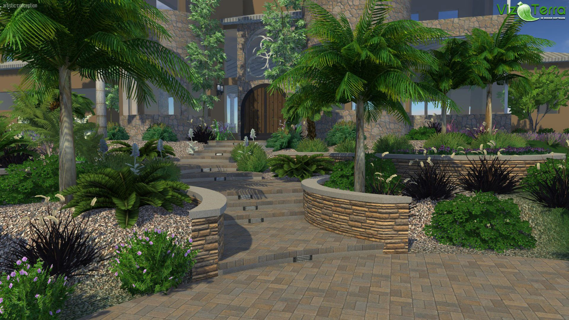 VizTerra - Landscape Design Software | Landscape design ...