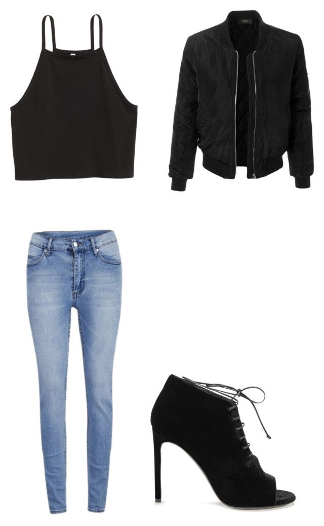 """""""Untitled #283"""" by joneishaz on Polyvore featuring Cheap Monday, Yves Saint Laurent and LE3NO"""
