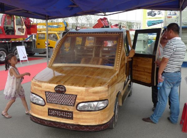 China Unveils The Umut A Wooden Electric Car Cars