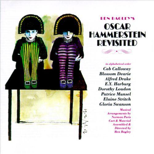 Harvey Schmidt 1995 Ben Bagley's Oscar Hammerstein Revisited [Painted Smiles PSCD-136] #albumcover #fashion