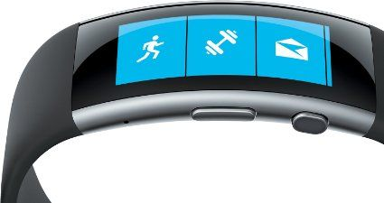 Microsoft Band V2 with GPS (Powered by Microsoft Health) MED MED: Amazon.es: Deportes y aire libre