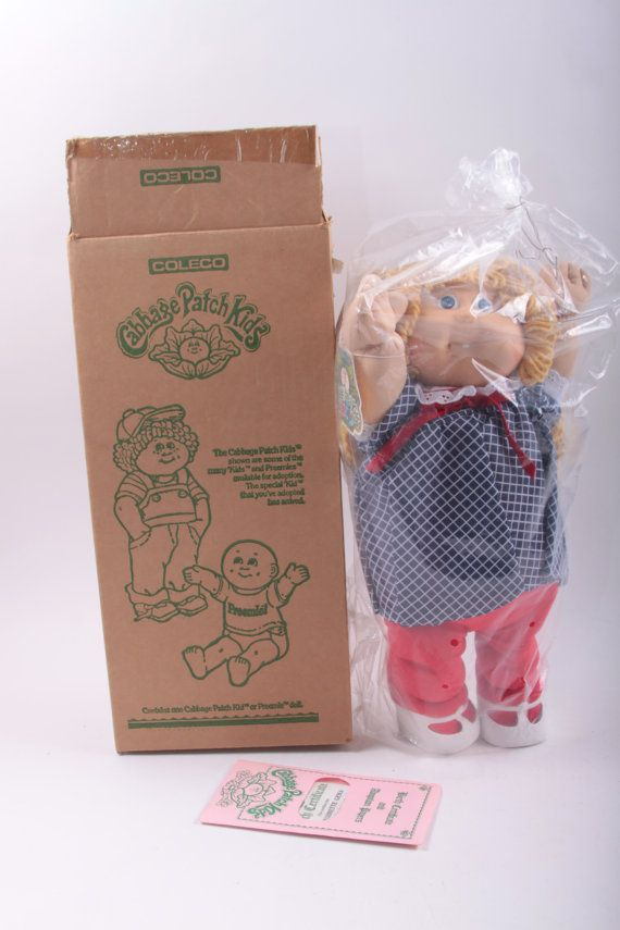 Vintage, Cabbage Patch Kids, CPK, Doll, MIB, In Original