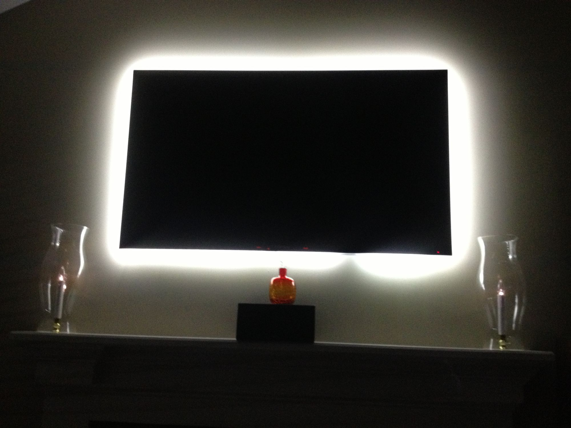 TV Backlight Kit from Inspired LED Installs in minutes and is so