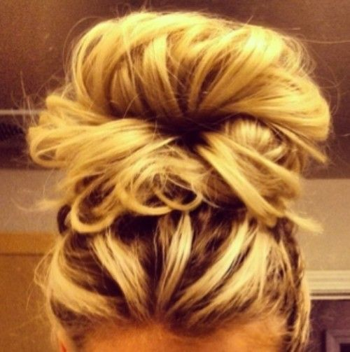 30++ Messy bun on top of head inspirations