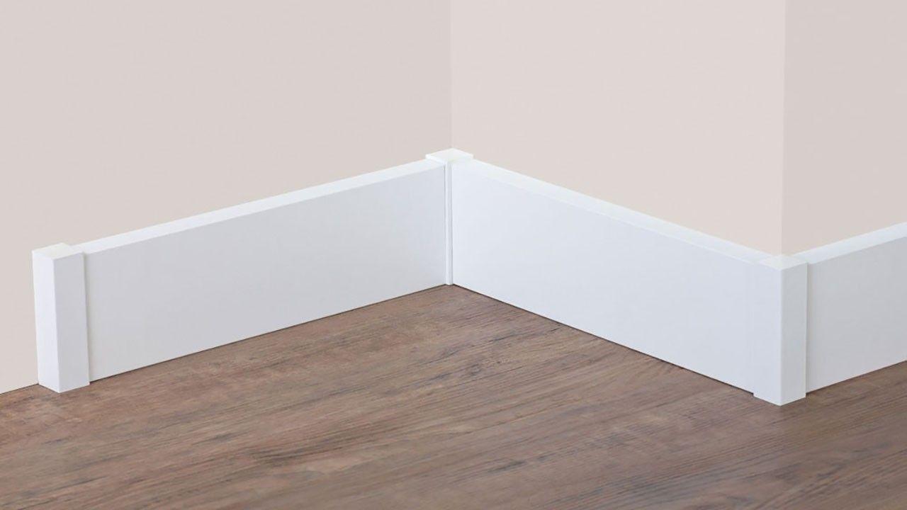 Planeo Vierkant Holzecken 22mm 4st Sockelleisten Zubehor Sockelleisten Coole Mobel Holz