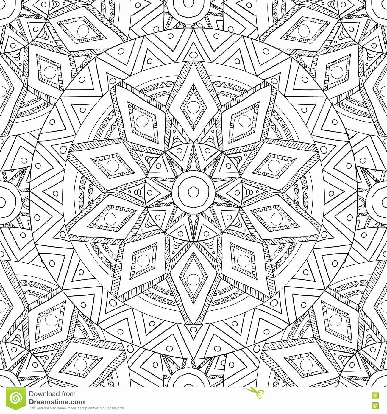 Nature Mandalas Coloring Pages Doverpublications Com With